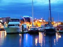 Fascinerende momentopname de hoofdstad van van Hobart, Tasmanige ` s stock afbeelding