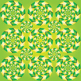 Fascinerende optische illusie Stock Foto