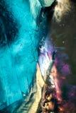 Fascinerende Wereld van Kristallen Stock Afbeelding
