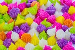 Fascini, un genere di caramella tailandese dolce fotografia stock