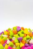 Fascini, un genere di caramella tailandese dolce immagine stock libera da diritti