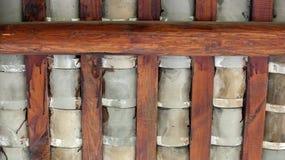 Fascio di tetto e delle mattonelle Fotografia Stock