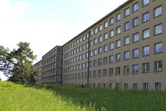 Fascist architecture at Prora, Ruegen island Royalty Free Stock Photo