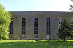 Fascist architecture at Prora, Ruegen island Royalty Free Stock Photos