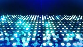 Fase che accende fondo con effetto delle molte luci Animazione astratta del ciclo della discoteca Illuminazione al neon d'ardore  royalty illustrazione gratis