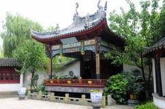 Fase cinese antica di prestazione Fotografia Stock Libera da Diritti