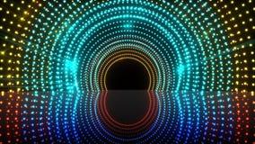 Fase clara colorida do túnel ilustração royalty free