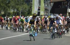 """Fase 17 da rota de Tour de France 2016: € """"Finhaut Emosson do swi de Berna (swi) Foto de Stock"""