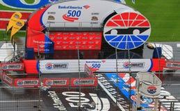 Fase 10-11-14 de Charlotte Motor Speedway Foto de Stock Royalty Free