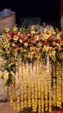 Fase decorada com flores bonitas Foto de Stock