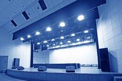 Fase del teatro Fotografie Stock