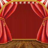 Fase del teatro illustrazione vettoriale