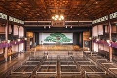 Fase del teatro di Kabuki Immagini Stock Libere da Diritti