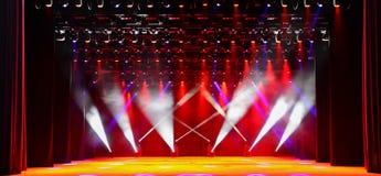 Fase di concerto Fotografie Stock