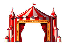 Fase di spazio del circo Fotografia Stock