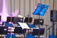 Fase do concerto Fotografia de Stock Royalty Free