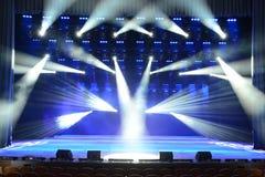 Fase do concerto Imagem de Stock