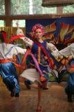 A fase do ¾ n de Ð é dançarinos e cantores, atores, membros do coro, dançarinos de corpo de bailado, solistas do conjunto ucrania imagem de stock royalty free