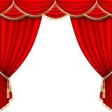 Fase do teatro engranzamento Fotografia de Stock Royalty Free