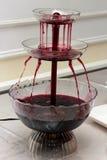 Fase do vinho tinto durante o feriado Foto de Stock