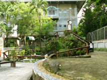 Fase e podio, santuario nazionale di pietà divina in Marilao, Bulacan Fotografie Stock