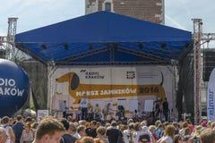 Fase, marzo dei bassotti tedeschi 2016 Fotografie Stock Libere da Diritti