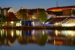 Fase principale del festival prestata, Maribor Immagine Stock