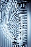 Faser-Optikanschlüsse lizenzfreie stockbilder