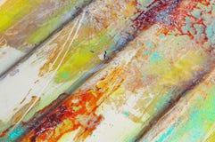 Faserglas-Bootsunterseite Stockfotos