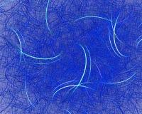Fasern der Farbabstrakten kunst lizenzfreie abbildung