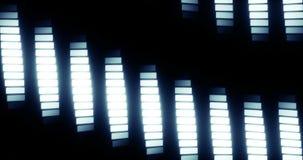 Fasett kretsad bakgrund lager videofilmer