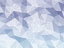 Fasetterad bakgrund för abstrakt begrepp royaltyfri illustrationer