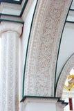 Fasetterad kammare kremlin moscow UNESCOarv Royaltyfria Bilder