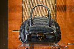 Fashiom bag. Fashion luxury  showcase display shopping retail Royalty Free Stock Photography