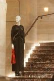 Fashiom  retail display. Fashion  display mall retail shopping luxury gift window showroom Royalty Free Stock Photography