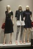 Fashiom  retail display. Fashion  display mall retail shopping luxury gift window showroom Stock Photos