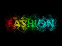 Fashion. Beautiful colourful 3d Fashion text Royalty Free Stock Photos