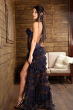 Fashion. Able young girl wearing a dress Royalty Free Stock Photo