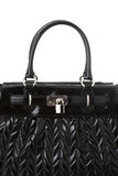 Fashion. Ladies handbag isolated on white background stock image
