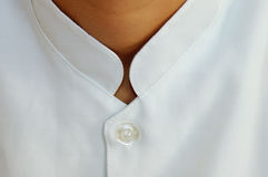 Fashion. Detail of a doctor clothes royalty free stock image