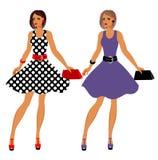 Fashion 80's of last century.  royalty free illustration
