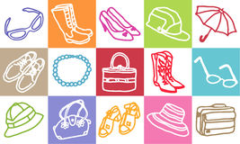 Fashion & accessories Royalty Free Stock Photos