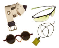 Fashion accessories fashion with clipping path Stock Photos