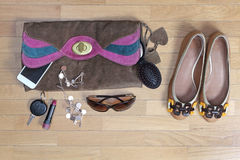 Daily fashion accessories Stock Photography