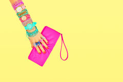 Fashion Accessories Set. Outfit. Minimal Style Royalty Free Stock Images