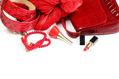 Fashion accessories for women Royalty Free Stock Image