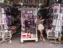 Fashion accessory shop Royalty Free Stock Photos