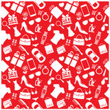 Fashion And Women Accessories Background, Pattern Royalty Free Stock Photography