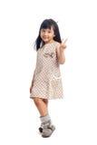 Fashion asian child Royalty Free Stock Photos