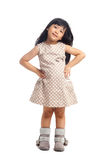 Fashion asian little girl Royalty Free Stock Images